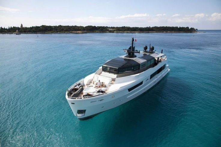 The 115-foot Arcadia M Ocean is for sale through Ocean Drive on the brokerage market.