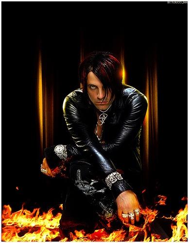 Criss Angel - Fire  sexy hot! lol
