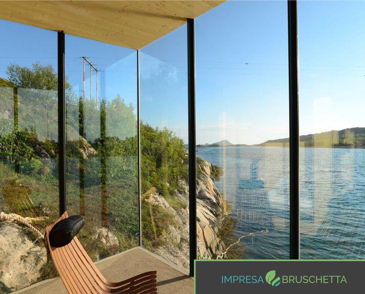 La vista attraverso una finestra veramente mozzafiato   Se vuoi vedere altre meraviglie del mondo dell'edilizia visita il nostro blog:  www.impresabruschetta.it
