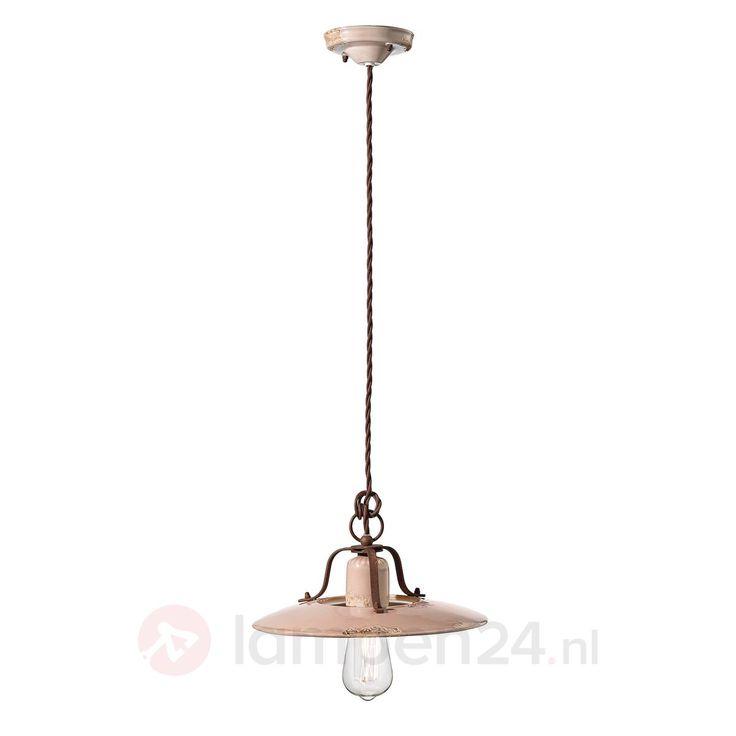 http://www.lampen24.nl/Keramische-hanglamp-Giorgia-30-cm-oud-roze.html