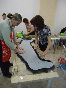 Отчет о МК Лены Бардиной по валяным ботфортам - Ярмарка Мастеров - ручная работа, handmade