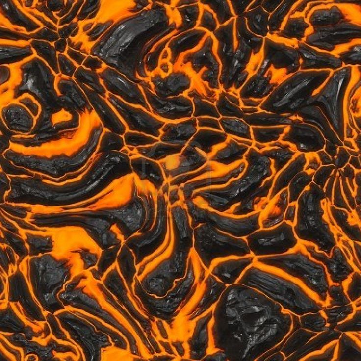 Lava Flow Seamless Texture Tile (You could ACTUALLY play the floor is lava with this!!!)