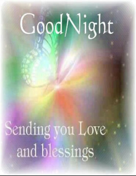 Love And Blessings | Good Night Good Morning | Pinterest