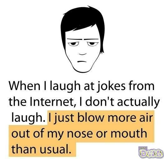 Totally did it when i read this... haha
