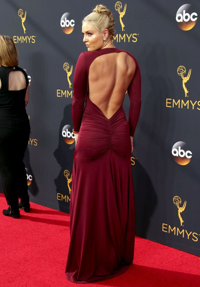 Emmys 2016: The Night's Best Gowns From Every Angle - Lindsey Vonn
