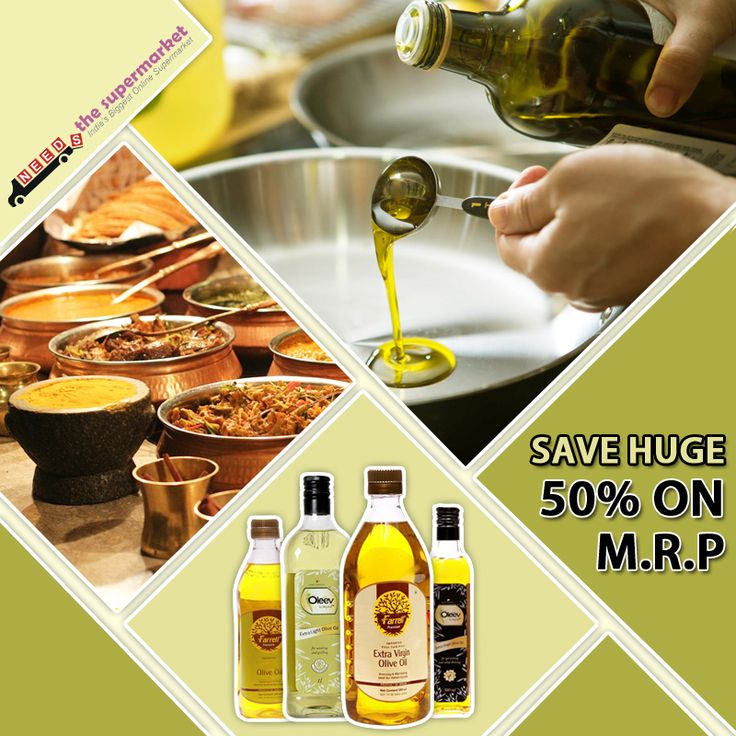 Are you passionate about cooking? Add more taste with #OliveOil . Now 50% off on M.R.P. http://bit.ly/1F9dh0J