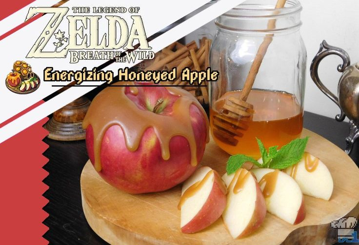 13 best legend of zelda recipes images on pinterest videogames completed recipe of the energizing honeyed apple from the legend of zelda breath of the forumfinder Choice Image
