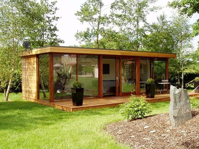 17 best images about garden studios on pinterest gardens for Bespoke garden office