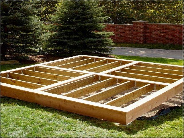 How To Build A Deck On Ground Level Outside