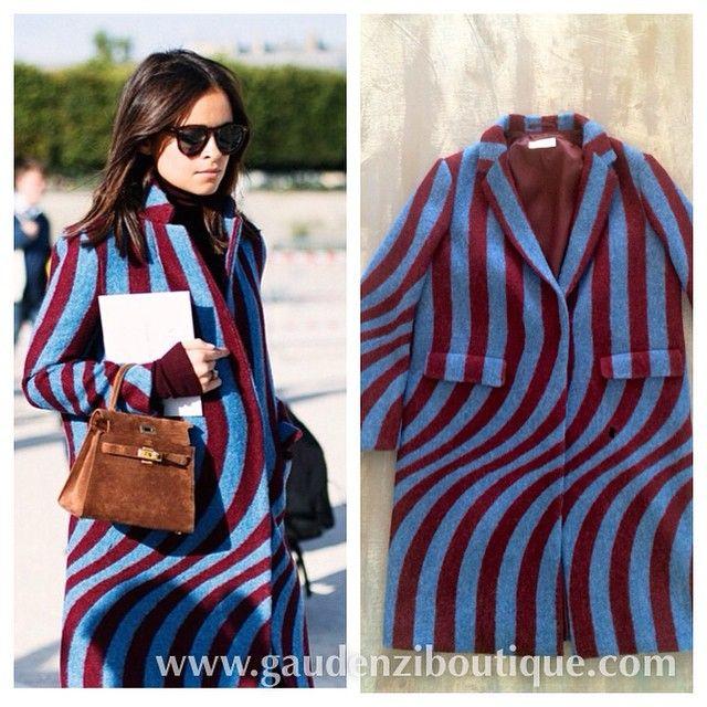 Fashionblogger look! Trendy and chic @miraduma with @drisvannoten #coat #inverno2014 #instantstyle #miraduma #lookoftheday #tredy #cool #gaudenziboutique #gaudenziriccione #findthelook #мода #зима www.gaudenziboutique.com