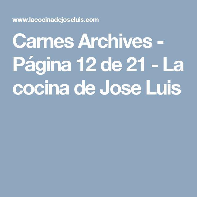 Carnes Archives - Página 12 de 21 - La cocina de Jose Luis