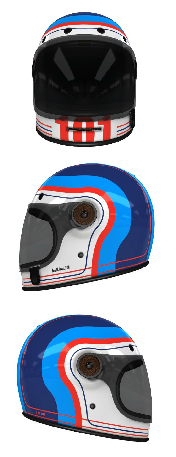 Custom Bell Bullitt Motorcycle Helmet Design at Helmade