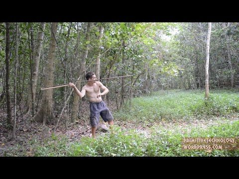 Making primitive huts and tools from scratch using only natural materials in the wild.I also have this blog: https://primitivetechnology.wordpress.com/ (I ha...
