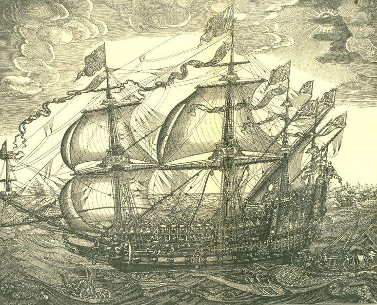 Et af Christian 4's orlovsskibe