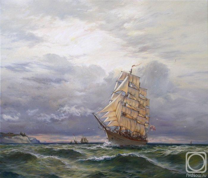 Панов Эдуард. В море