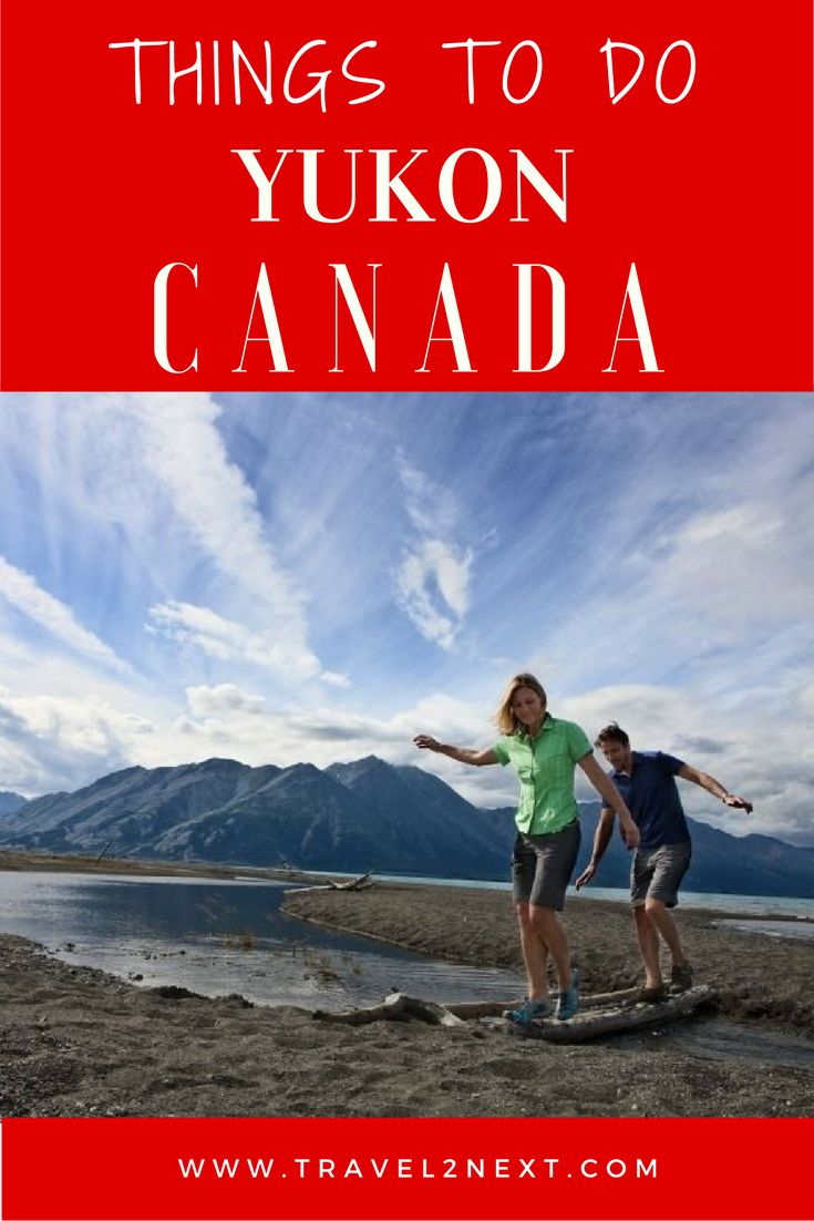 More things to do in the Yukon, Canada. Located in northern Canada, the Yukon is a wedge of land surrounded by the Arctic Ocean, Alaska, the Northwest Territories and the province of British Columbia.
