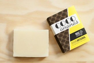 COCO et ANANAS - Savon biologique / organic soap (coco-pineapple)