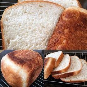 HBで簡単 基本パン ド ミ ハチミツ♪