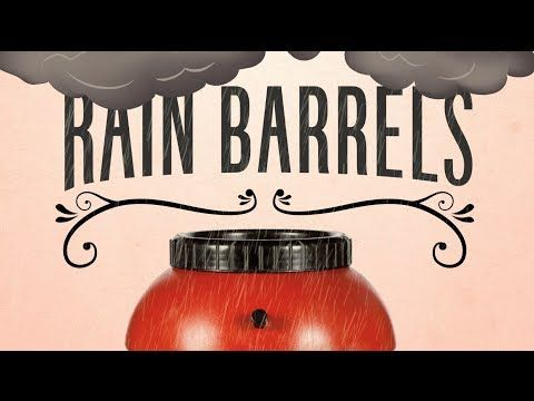 Rain, Rain, Rain Away. Cary Rain Barrels takes advantage of stormy weather. #upcycled #water #storage