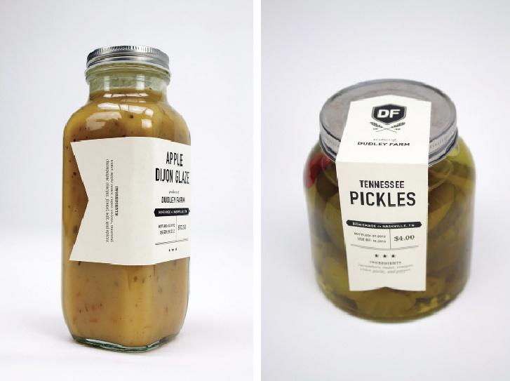DIY Mason Jar label design by stitch design co