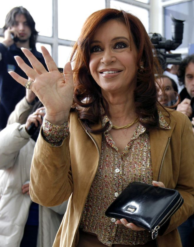 Argentina's first elected female President, Cristina Fernandez de Kirchner presides over the government of the second-largest country in South America, and one of the fastest-growing economies in the world. President Kirchner serves as an example to women everywhere that they have the ability to lead a nation through hard times and political turmoil, as well as through economic growth and sensitive diplomatic relations.