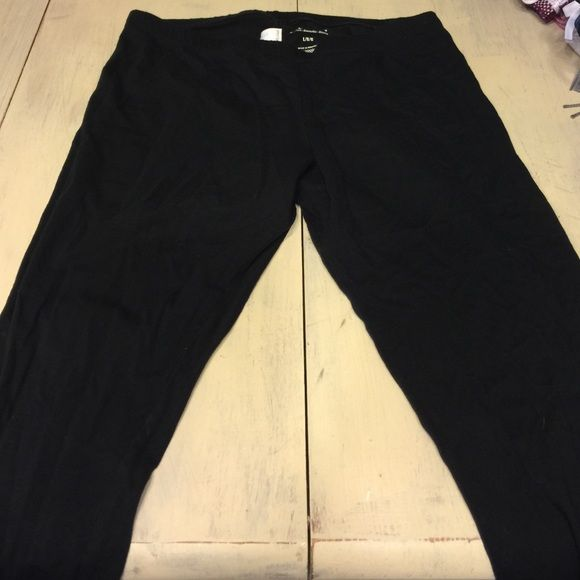 Old navy leggings Black old navy leggings size large. Not full length stops between calf and ankle. Like new condition Old Navy Pants Leggings