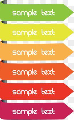 Seta de cor Da caixa de texto | png em 2019 | Arrow text ...