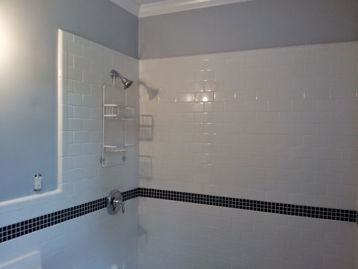 Removed Old Tile And Replaced With New Tile And Hardware. Work Completed By  Charlotte,. Bathroom RemodelingCharlotte ...