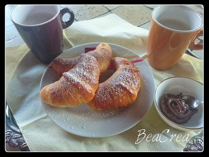 BeaCrea: Brioche con finta sfoglia-Croissant recept
