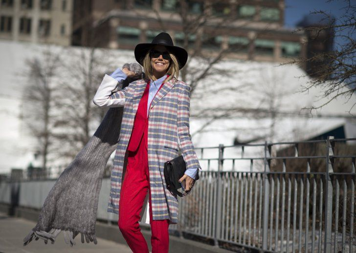 Pin for Later: 10 Layering Hacks That Will Forever Change Your Winter Style Wear a Beanie Under Your Brimmed Hat
