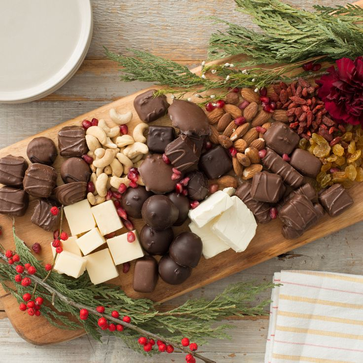 Add your favourite selection of Delecto to your New Years Eve appetizer table! #newyearseve #appetizer #holidays #entertaining #chocolatelovers