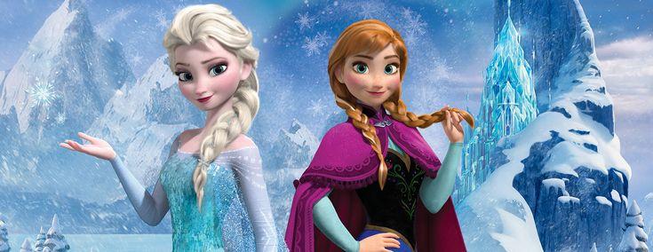 Walltastic - Παιδική Θεματική Ταπετσαρία Frozen | Παιδικές Ταπετσαρίες