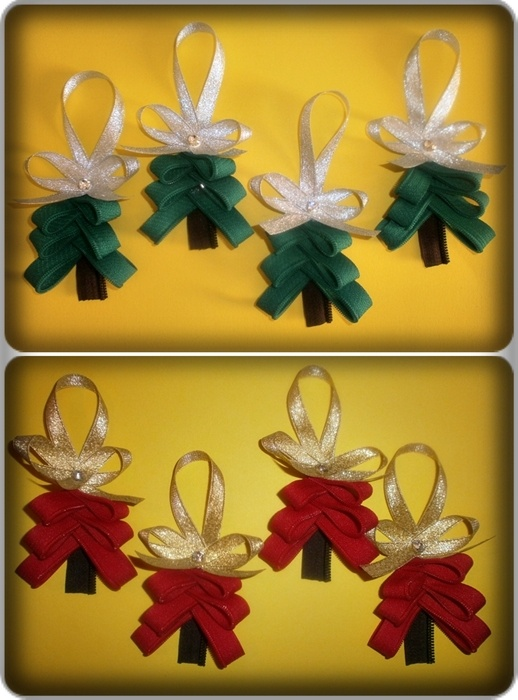 Christmas craft, zipper