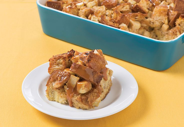 Apple MACK Toffee French Toast Bake A sweet toffee twist on French toast.