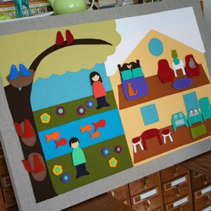 {DIY} Templates for making a fantastic Felt Play Board from Living Crafts.: Crafts Fall, Felt Boards, Boards Projects, Melissa Crows, Boards Templates, Plays Boards, Felt Plays, Crafts Blog, Living Crafts