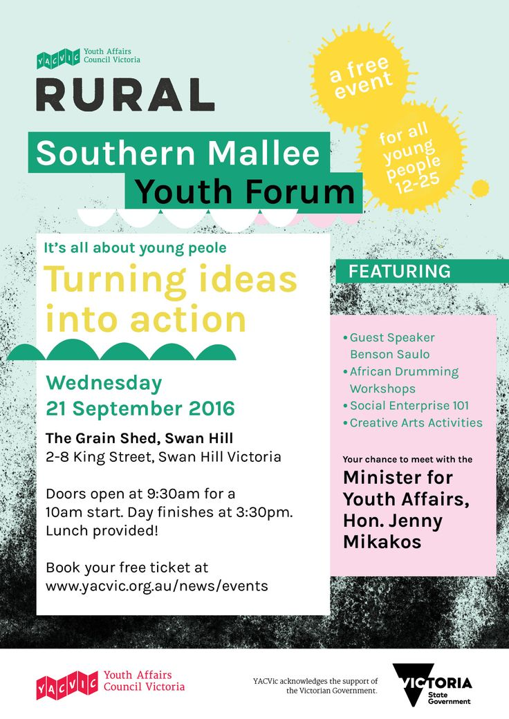 Rural Youth Forum Series Southern Mallee Sep2016