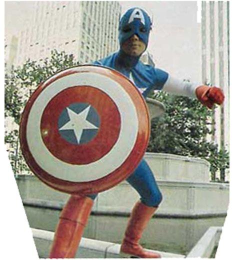 Jonathan Frakes Captain America