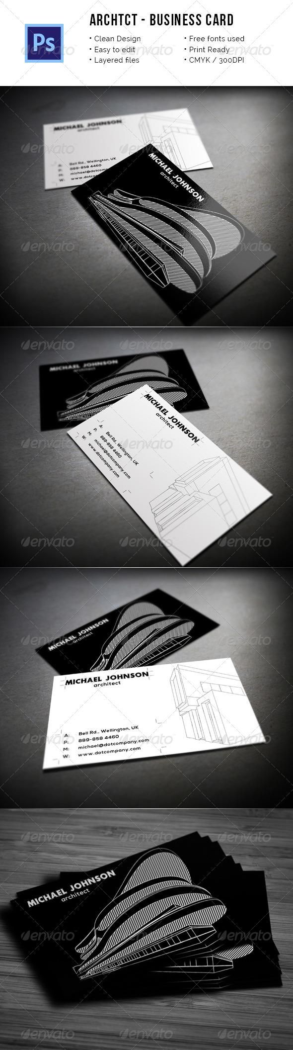 1661 best business card design images on pinterest cards file c archtct architect business card magicingreecefo Images
