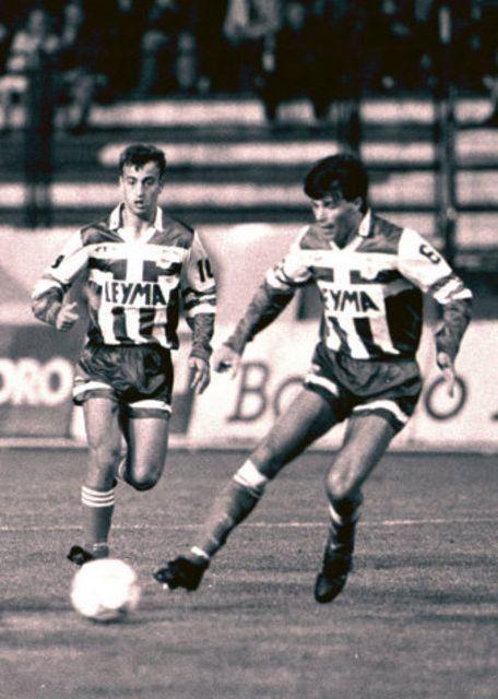 Fran e Kanatlarovski em 1991.