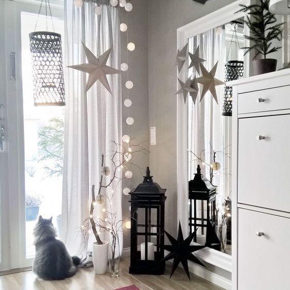 41 besten weihnachten bilder auf pinterest | gärten, schlafzimmer ... - Wohnzimmer Deko Weihnachten