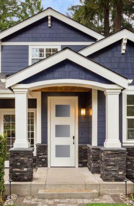 Sandblast Glass Trimlite Solution Series Doorlites