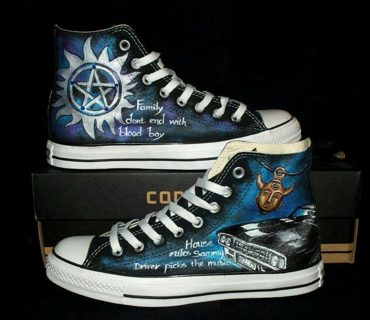 Supernatural shoes....Love that show