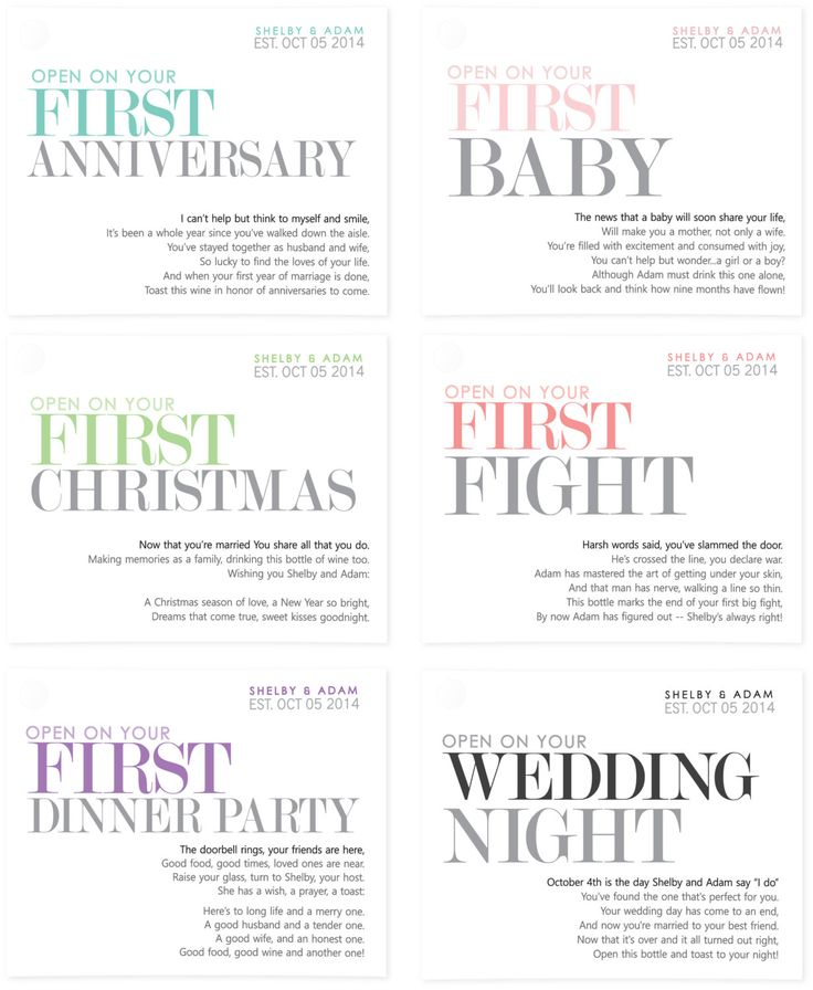 Wedding Gift Ideas For Wealthy Couple : wedding wine labels milestone stickers unique wedding gift or bridal ...
