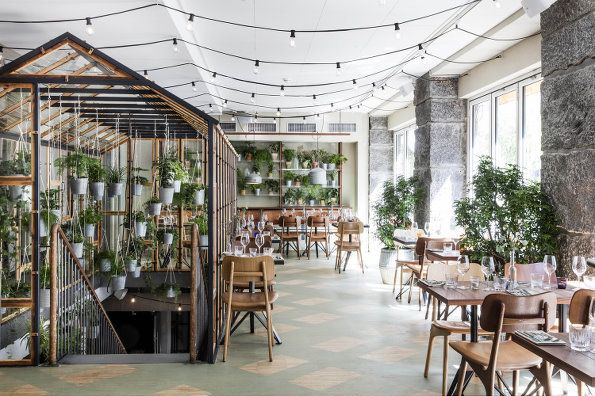 丹麦小清新的 Väkst 餐厅 Genbyg