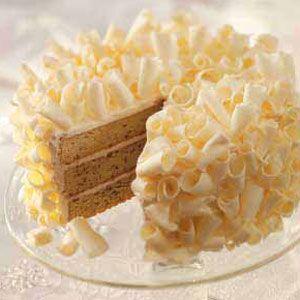 White Chocolate Creme Cake