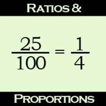 how to find the proportions in maths