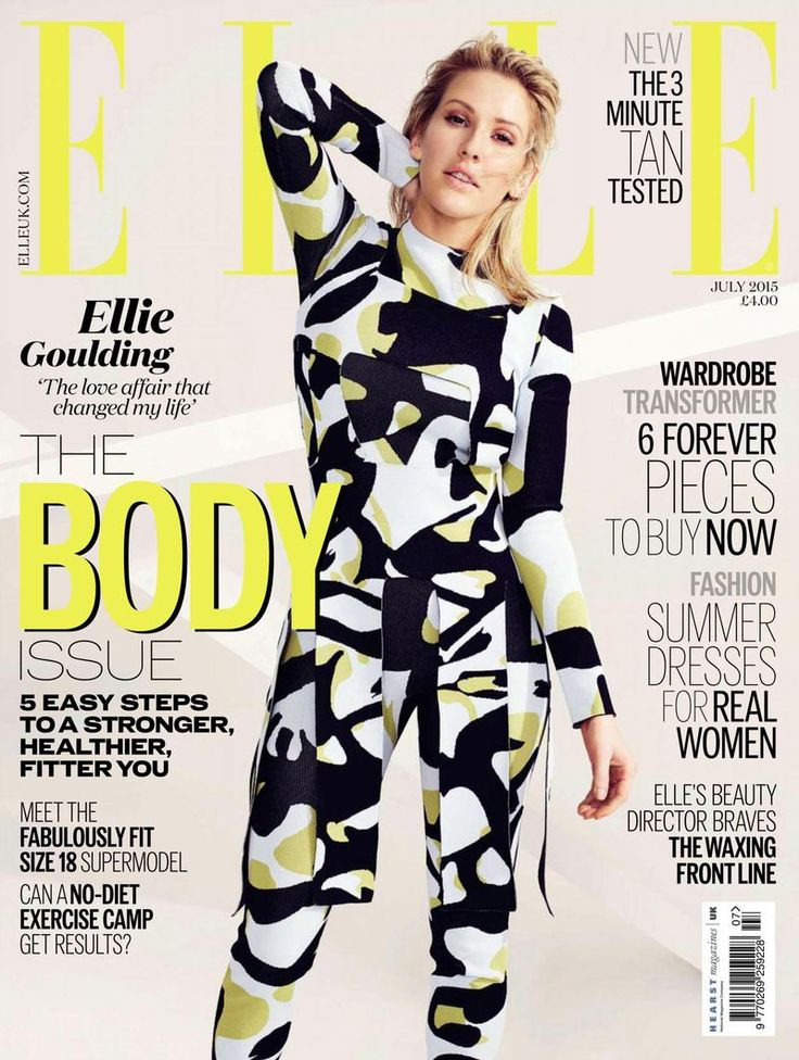 Ellie Goulding Covers Elle UK, July 2015 - http://www.becauseiamfabulous.com/2015/06/ellie-goulding-covers-elle-uk-july-2015/