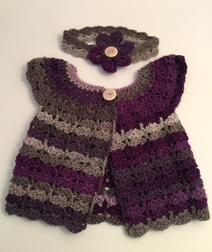 A personal favourite from my Etsy shop https://www.etsy.com/uk/listing/386433550/crochet-handmade-lavender-sparkle-baby