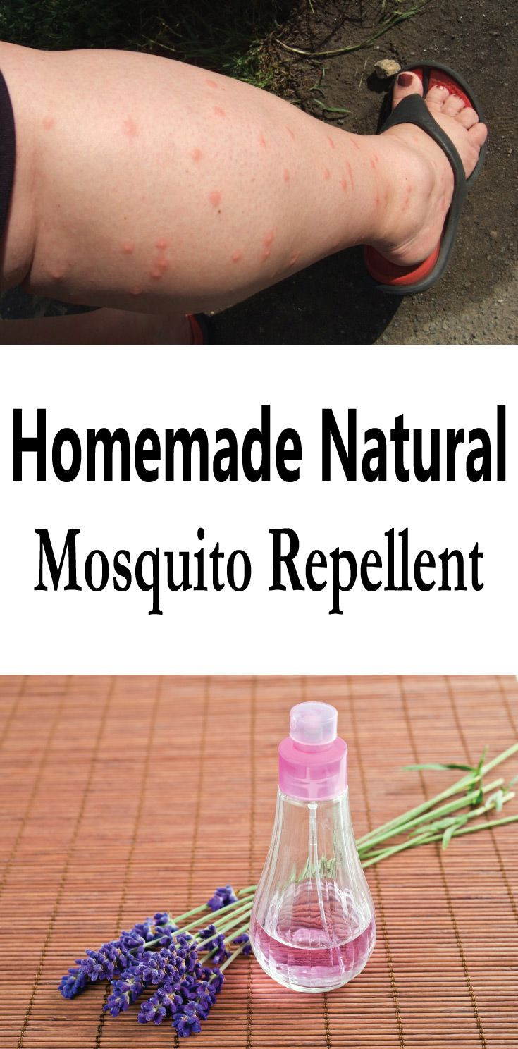 how to make homemade natural mosquito repellent