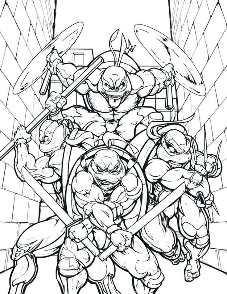 Complete Ninja Coloring Pages Pdf For Kids Coloringfolder Com Ninja Turtle Coloring Pages Turtle Coloring Pages Ninja Turtles